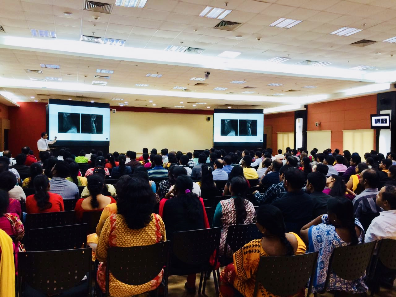 HSBC Hyd - Spine Talk Dr.Kiran Kumar Lingutla Somajiguda,Hyderabad