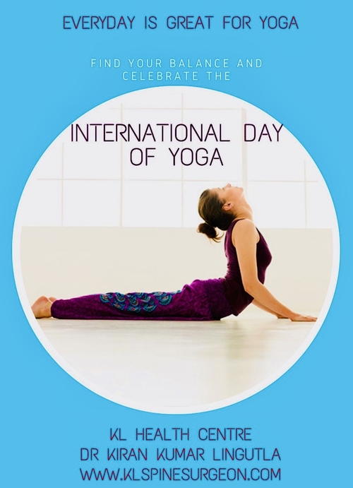 International Yoga Day|Dr.Kiran Kumar Lingutla|Somajiguda,Hyderabad
