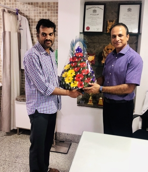 Pt.Mr Krishna Relangi\'s gratitude post surgery .|Dr.Kiran Kumar Lingutla|Somajiguda,Hyderabad