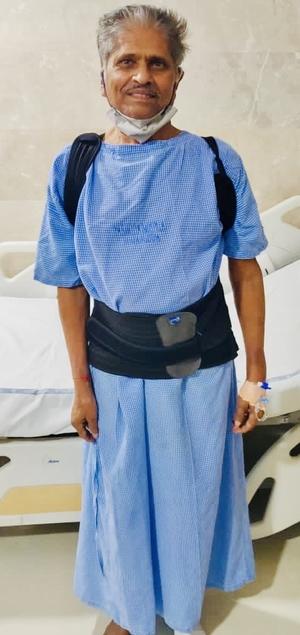 Mr.Laxmi Narsaiah - Multilevel Vertebroplasty Dr.Kiran Kumar Lingutla Somajiguda,Hyderabad